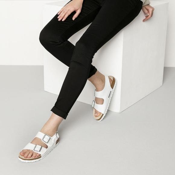 birkenstock milano narrow fit sandal